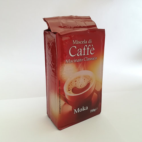 Caffe' Macinato Moka 250 Gr
