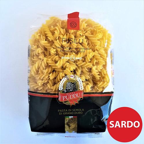 Puddu Pasta Fusilli 122 Gr. 500
