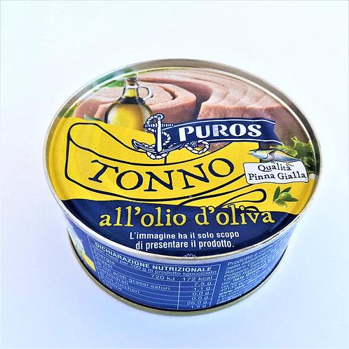 Puros Tonno Olio D'oliva Pinna Gia. 160 Gr