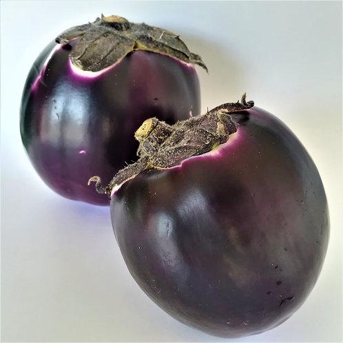 Melanzane Viola Cat. 2 Or. Italia € 1.79/Kg Porzione da gr. 700
