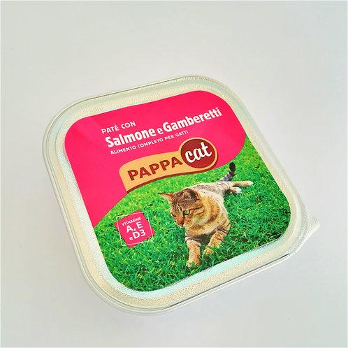 Pappacat Pate' Salm/Gamber. 100 Gr
