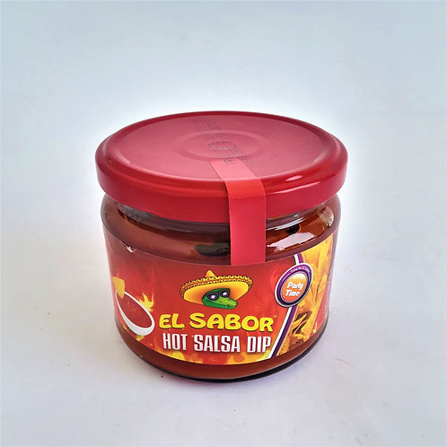 El Sabor Salsa Dip Hot 330 Gr