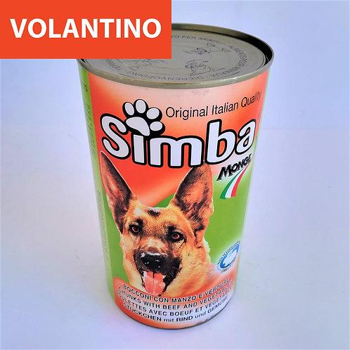 Simba Cane Manzo Verd. Bocc. 1.250 Kg