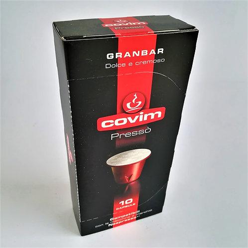 Caps Caffe' Presso' Granbar