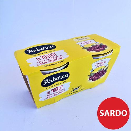 Arborea Yogurt Int. Frul .Cilieg. 2X125 Gr