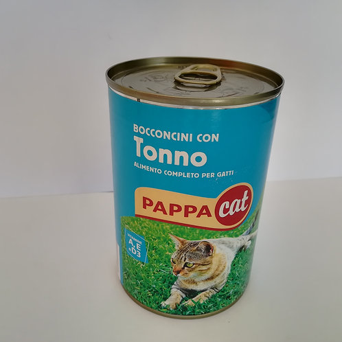 Pappacat Bocconcini Tonno Lat. 400 Gr
