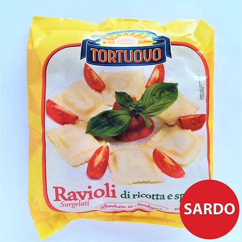 Tortuovo Ravioli Ric/Spinaci 500 Gr