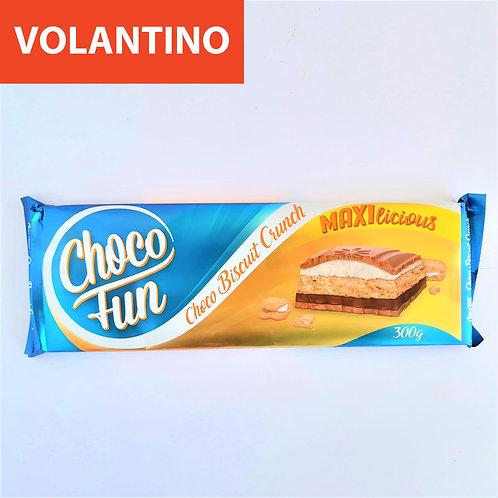Choco Fun Choco Bisc. Crocc. 300 Gr