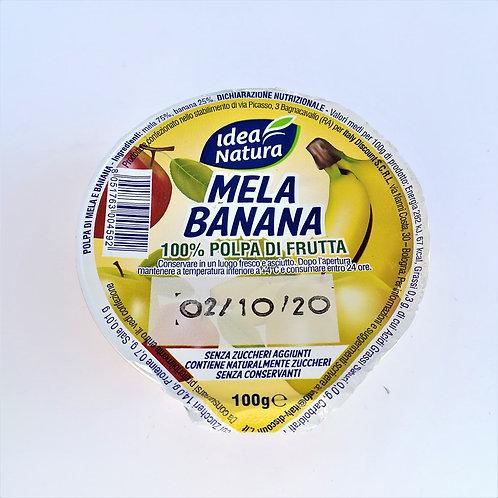 Idea Natura Polpa 100% Mela/Ban. 100 Gr