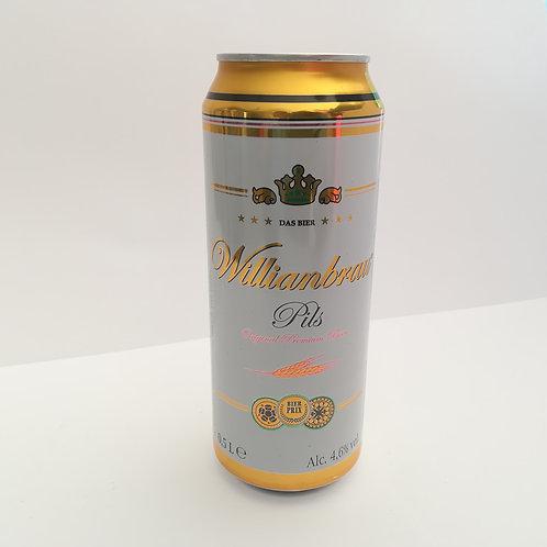Birra Williambrau Pils Lattina 50Cl