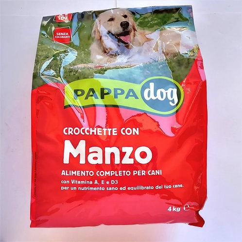Pappadog Crocchette Manzo 4 Kg
