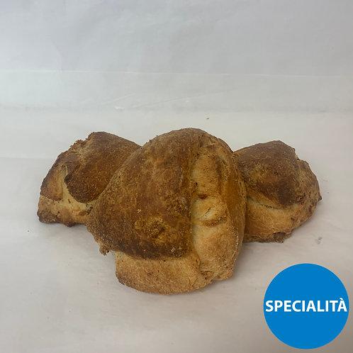 Pane Con Gerda Pilloni € 5.5/Kg Porzione da gr. 300