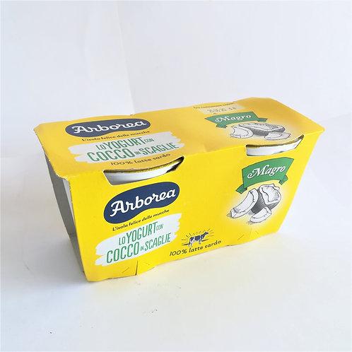 Arborea Yogurt Magro Cocco Sca. 2X125 Gr
