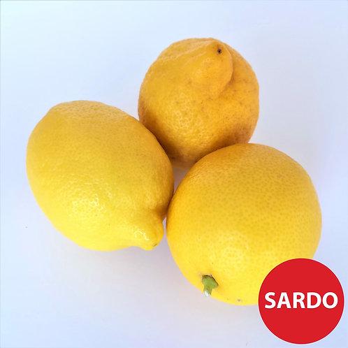 Limoni Cat. 2 Or. Italia-Sardegna € 1.65/Kg Porzione da gr. 500