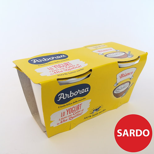 Arborea Yogurt Magro Bian. Nat. 2X 125Gr