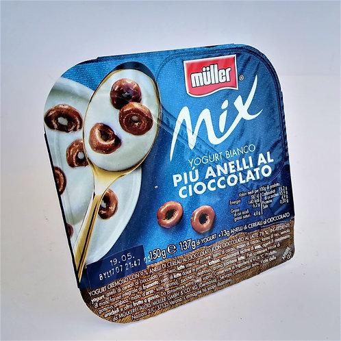 Muller Yog.Mix Anelli Ciocc.150 Gr