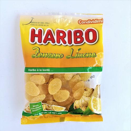 Haribo Caramelle Zenzero/Lim. 175 Gr