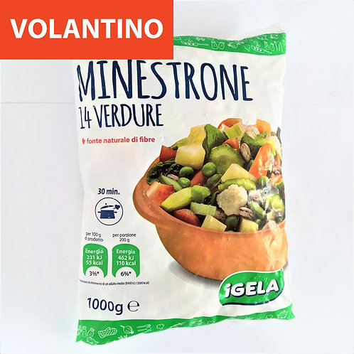 Igela Minestrone 14 Verdure 1 Kg
