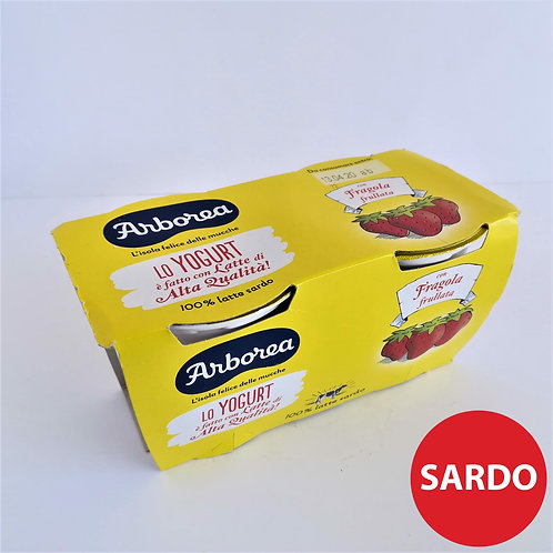 Arborea Yogurt Int. Frul. Fragol. 2X125 Gr