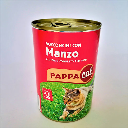 Pappacat Bocconcini Manzo Lat. 400 Gr