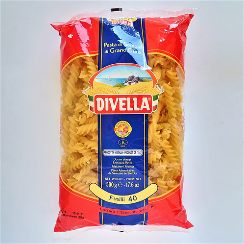 Divella Pasta Fusilli 40 500 Gr