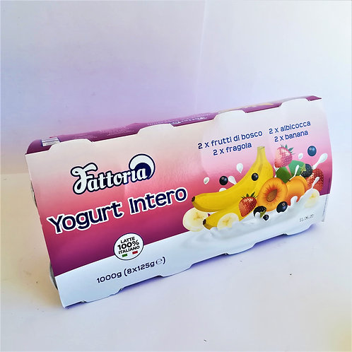 Fattoria Yogurt Int.Frutta 8X125 Gr