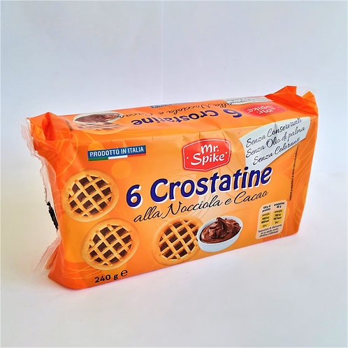 Mr Spike 6 Crostatina Cacao 240 Gr