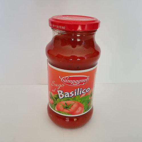 I Campagnoli Sugo Basilico 350 Gr