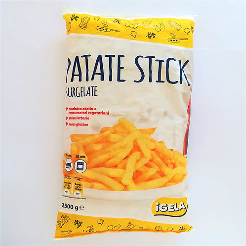 Igela Patate Stick 2.5 Kg