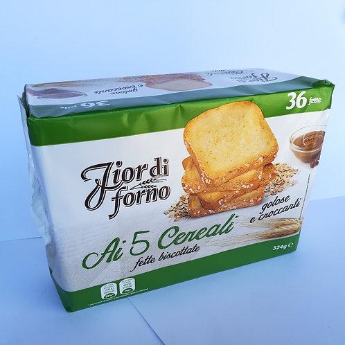 Fior Di Forno Fette 5 Cereali 324 Gr