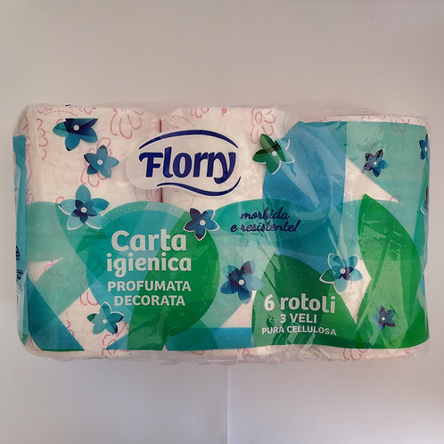 Florry Igienica 3 Veli 6 Rot. Dec. Prof.