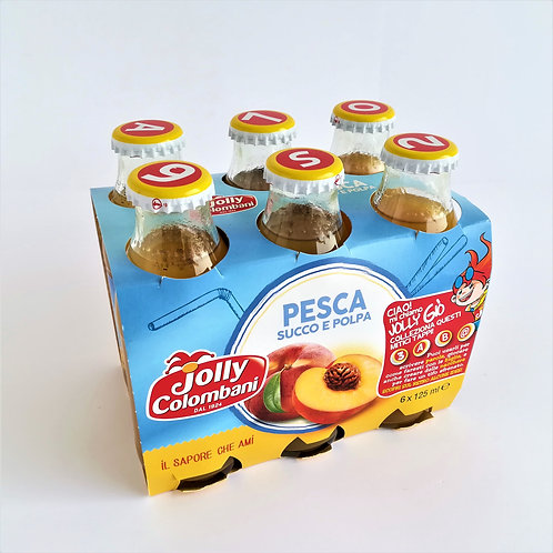 Jolly Succo Pesca Ml. 125X6
