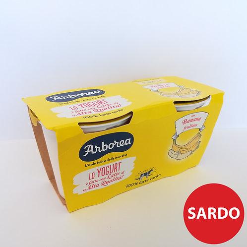 Arborea Yogurt Int.Frul.Banana 2X125 Gr