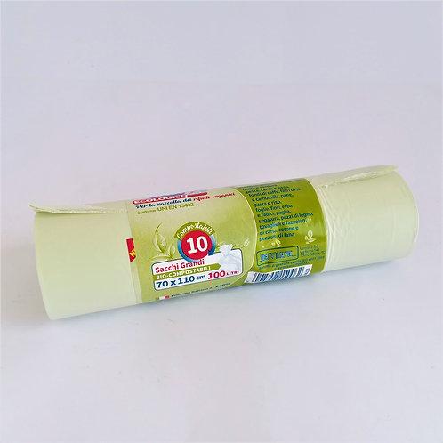 Sacch. Nett. Biod. Compost. X10 70X110