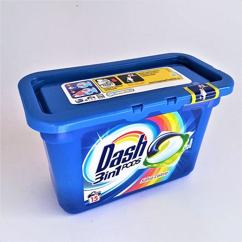Dash Lavatrice 3In1 Colore 15 Pods