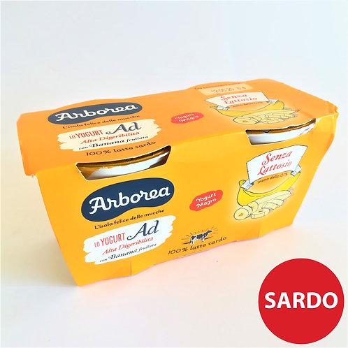 Arborea Yogurt Ad Banana Frul. 2X125 Gr