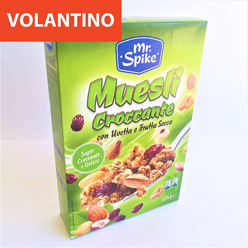 Mr Spike Muesli Crocc. Uv/Noc. 375 Gr