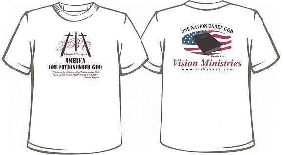 ONE NATION UNDER T- Shirt