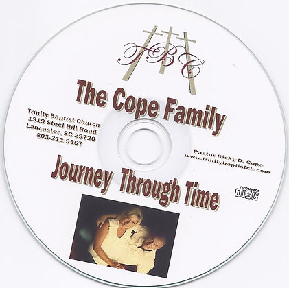 **Journey Thru Time** Music CD