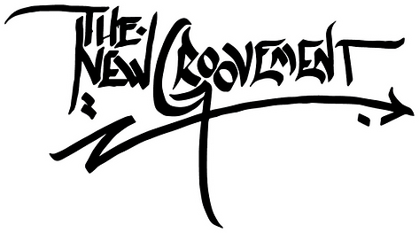 Alex logo design 5  white outline black