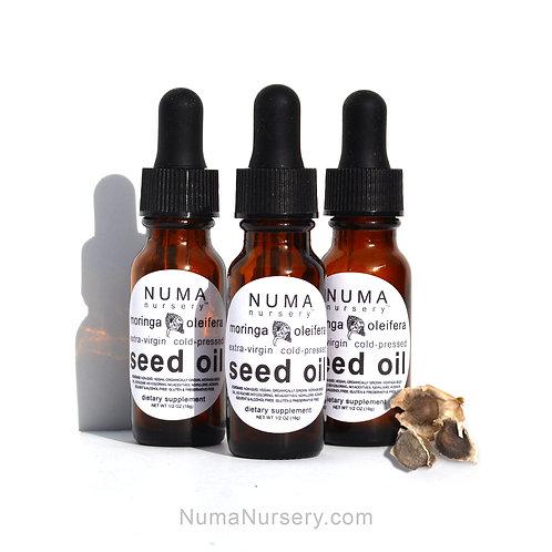 3 Moringa Seed Oils 1/2oz