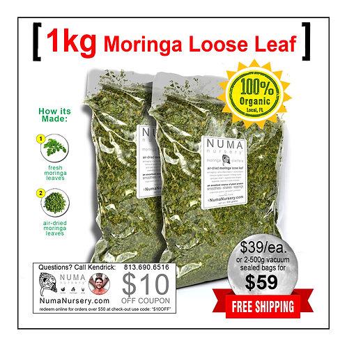 Moringa Loose Leaf 1kg