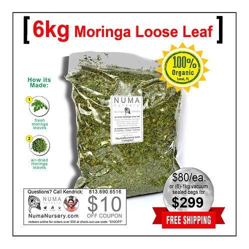 Moringa Loose Leaf 6kg