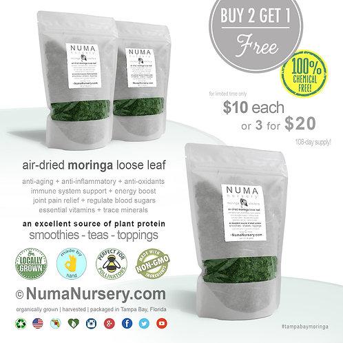 moringa loose leaf | buy 2 get 1 free