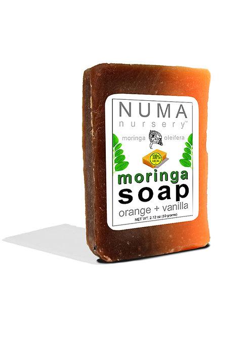 moringa soap | orange + vanilla