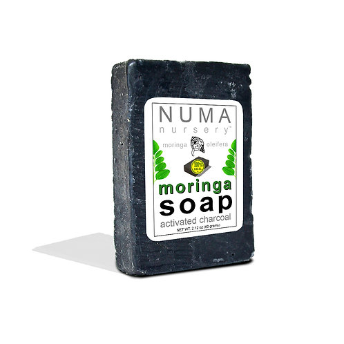 moringa soap | activated charcoal