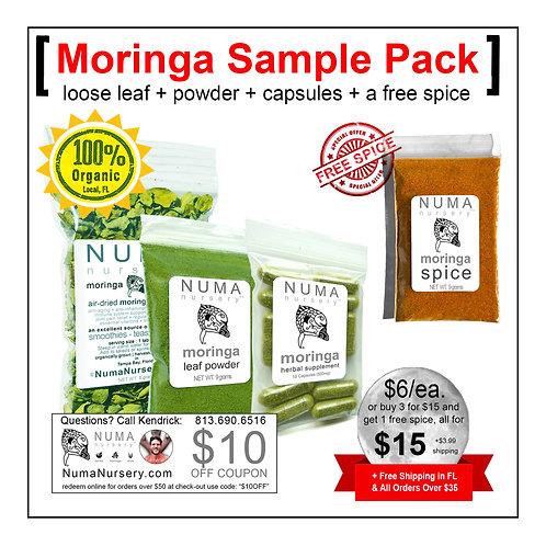 Moringa Sample Pack