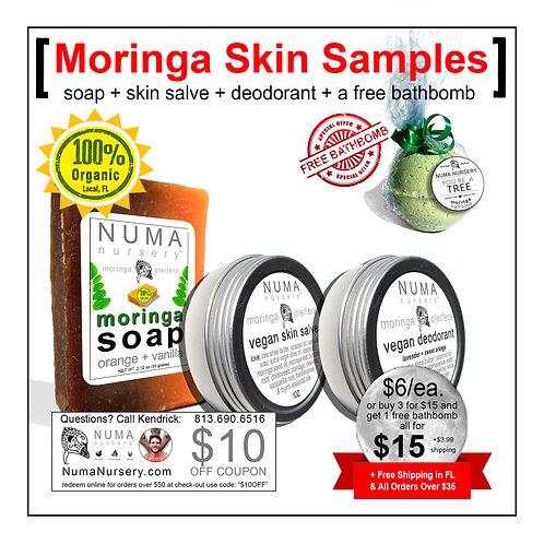 Moringa Skin Samples