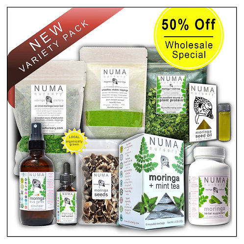 Moringa Wholesale | Variety Pack