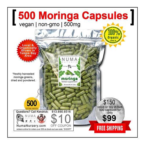 500 Moringa Capsules